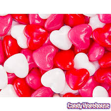 heart candy valentines candy candywarehouse