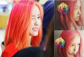 popular kpop hair colours 7 k pop ladies who have a flair for colorful hair