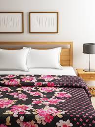 Swayam White N Pink Floral Swayam Women Bedding Sunglasses Buy Swayam Women Bedding