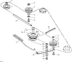 diagram for 212 jd mower deck belt