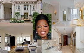 Celebrity Interior Homes Oprah Winfrey Photos Inside Celebrity Homes Ny Daily News
