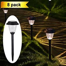 Solar Powered Landscaping Lights Homemory Solar Powered Garden Lights Led Wireless