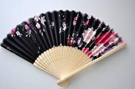 japanese folding fan etsy peony black fan handheld folding fan japanese fan