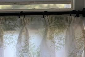 half linen curtains for a farmhouse bathroom