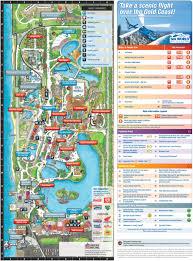 Animal World Map by Gold Coast Sea World Park Map