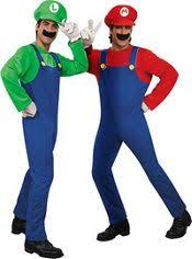 Mario Luigi Halloween Costumes Couples Couple Costume Hallo