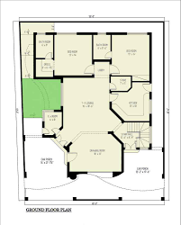 duplex floor plan 12 marla duplex home plan