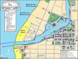 Michigan Lighthouse Map by South Haven Trails And Cycle Map Maplets