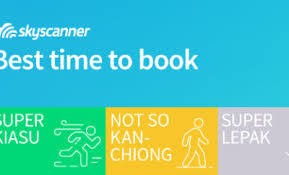 sky scanner skyscanner s best time to book for travel savings