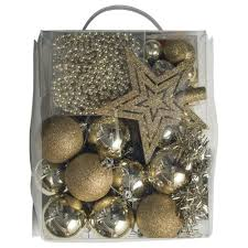 buy christmas tree decorations pack 70 pce online at countdown co nz