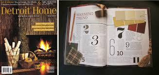 Home Interior Magazines Online by Michigan Interior Design Charles Dunlap Discusses Warming Trends