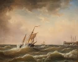 sailing ships in rough seas auktionshaus lempertz