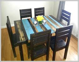 Distressed White Kitchen Table Turquoise Distressed Dining Tables - Distressed kitchen tables