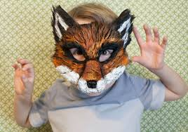 fantastic mr fox study guide fox mask ash fox fantastic mr fox child mask nick wilde