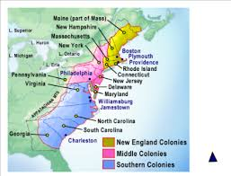 the thirteen colonies map smart exchange usa thirteen colonies
