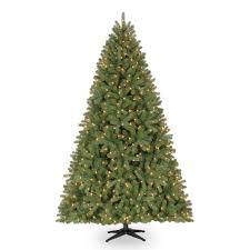 7 5 ft pre lit hamilton pine mixed artificial tree