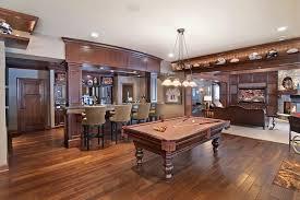 open floor plans with basement basement sports bar basement traditional with wood floor open