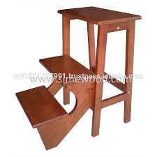Library Step Stool Chair Combo Wooden Step Stool Chair Handmade Childrens Wooden Step Stool