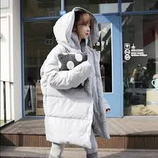 korean style fashion winter 2017 jacket women long thick outerwear