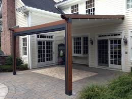 Pergola Covering Ideas by Best 25 Retractable Pergola Ideas On Pinterest Deck Awnings