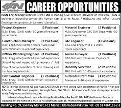 civil engineering jobs in dubai for freshers 2015 movies ikan engineering services lahore islamabad jobs 2015 april civil