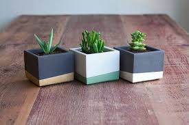 how to make your own concrete planter