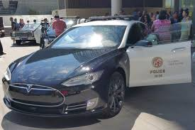 electric vehicles tesla the lapd has a tesla now the verge
