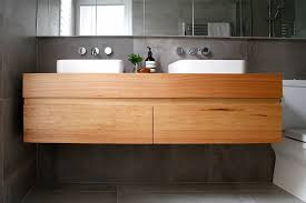 Recycled Bathroom Vanities by Solid Timber Vanities Bringing Warmth To Your Bathroom