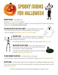 halloween idioms halloween resources pinterest english