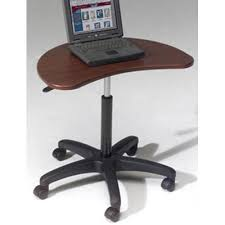 Portable Desk For Laptop Balt Pop Height Adjustable Portable Laptop Desk Stand