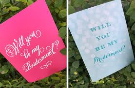 Ask Bridesmaids Cards Cute Ways To Ask Your Bridesmaids To Be In Your Wedding