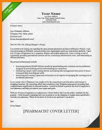 7 cover letter for pharmacist packaging clerks