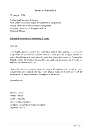 Letter To Submit Resume Faculty Position Cover Letter Sample Cover Letter For Nursing