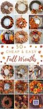 thanksgiving diy projects cheap and easy diy fall wreaths