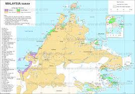 World Language Map by Malaysia Sabah Ethnologue