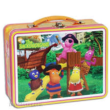 backyardigans costume party snack box lunchbox