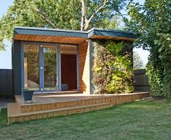 Backyard Office Building Small Shed Offices Turning Small Gardens Into Useable Office