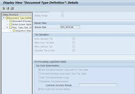 sap document types table opentext vim basic configuration for document processing dp