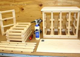 inspiration to how to make a pallet wine rack classic katzen