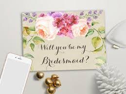in bridesmaid card will you be my bridesmaid card printable of honor matron