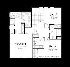 traditional home floor plans mascord house plan 22187 the blackpool
