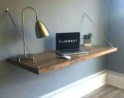 Modern Floating Desk New Floating Desk Ideas In Enchanting Wall Home