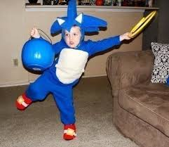 Hedgehog Halloween Costume Sonic Hedgehog Knucles Kids Halloween Costume