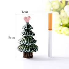 1 pcs mini resin design tree figurines miniatures