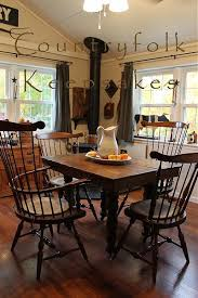 Primitive Dining Room Tables 3132 Best Primitive Living Images On Pinterest Primitive Decor
