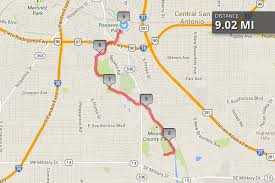 la cantera mall map the 3 best running routes in san antonio