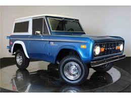 bronco car 1970 ford bronco for sale on classiccars com
