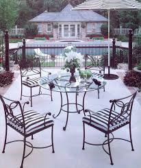 Wrought Iron Patio Table And Chairs Origin Of The Perfect Picnic From Wrought Iron Patio Tables To