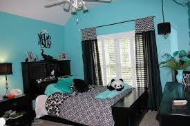Blue And Black Bedroom Ideas   tiffany blue and black bedroom portwings com my style
