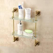 glass and chrome bathroom shelf unit telecure me